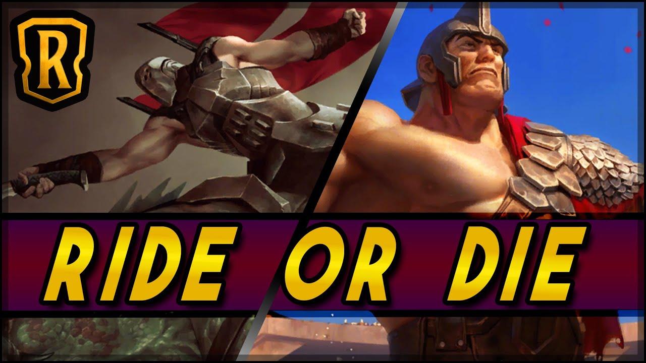 Ride Or Die (Basilisk Rider Aggro) | Season of Fortune | LoR Game | Legends of Runeterra
