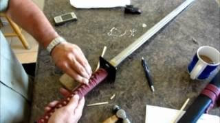 Sword Repair / Maintenance (cheap display sword)