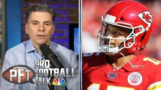 Who's the second best team in the AFC behind the Ravens? | Pro Football Talk | NBC Sports