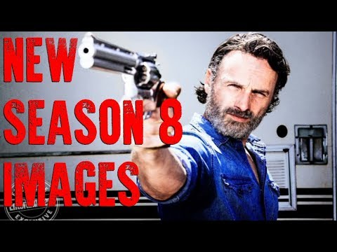 CARL FROM THE COMICS?! THE WALKING D3AD SEASON 8 NEW IMAGES!