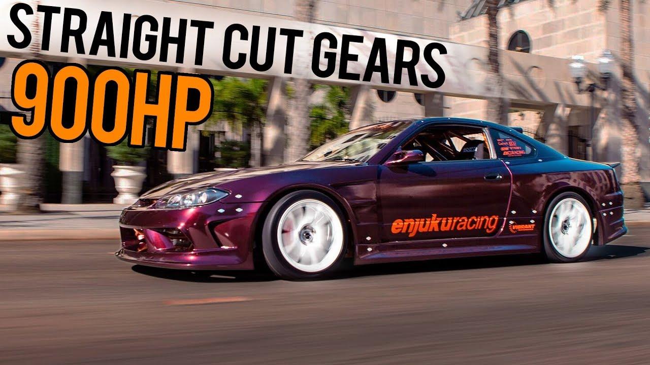GoPro POV - 900HP 2JZ S15 Race Car Vs  STREETS!