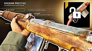 COD WW2: SECRET WEAPON UNLOCK.. The Final Infantry Rifle in Call of Duty WW2! (Multiplayer Gameplay)