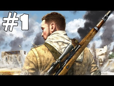 Sniper Elite 3 Walkthrough Part 1 Gameplay Let's Play Playthrough PC Review 1080p HD