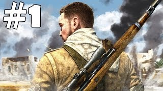 Sniper Elite 3 Walkthrough Part 1 Gameplay Let