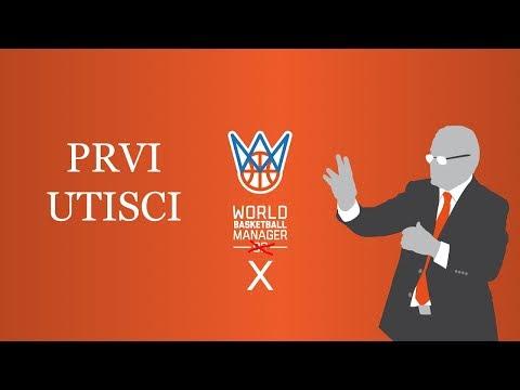 PRVI UTISCI   World Basketball Manager X