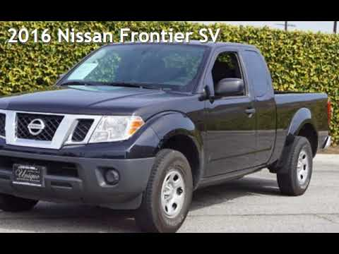 2016 Nissan Frontier SV for sale in LOS ANGELES, CA