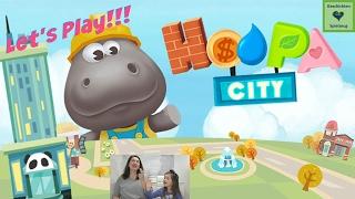 Wir spielen Dr. Panda's Hoopa City App - Städtebau| Let's Play iPad 💕 Geschichten und Spielzeug