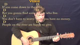 Download Proud Mary (CCR) Strum Guitar Cover Lesson with Chords/Lyrics
