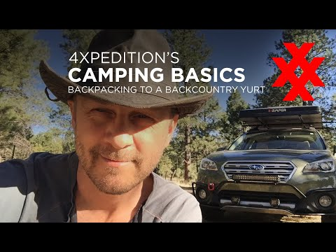 Backcountry Yurt Backpacking by 4XPEDITION