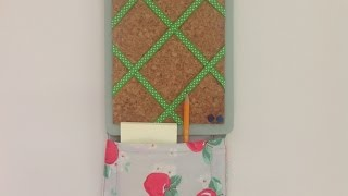 Make An Adorable Storage Pocket Pinboard  - Home - Guidecentral