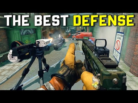 THE BEST DEFENSE - Dirty Bomb (Bushwhacker Gameplay)