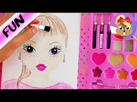 Make Up Challenge Topmodel Kolorowanka Malowanie Tylko