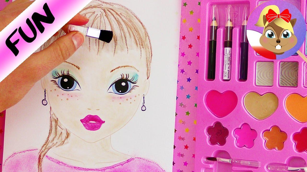 Make up challenge topmodel kolorowanka malowanie tylko - Photo de dessin top model ...