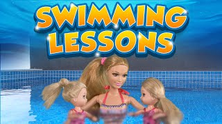 Barbie   The Twins Learn To Swim | Ep.93