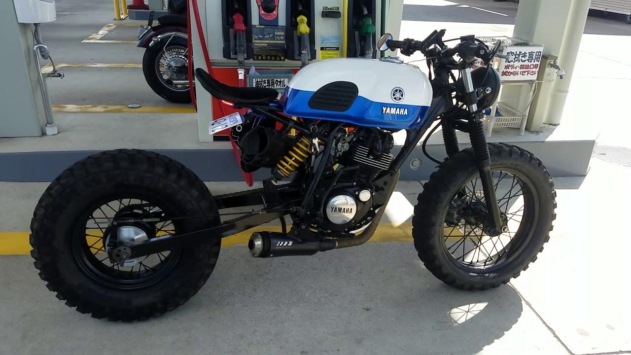 Yamaha Tw 200 >> YAMAHA TW200 カスタム custom caferacer scrambler bobber ヤマハ tw200 tw225 tw125 カフェレーサー カスタム - YouTube