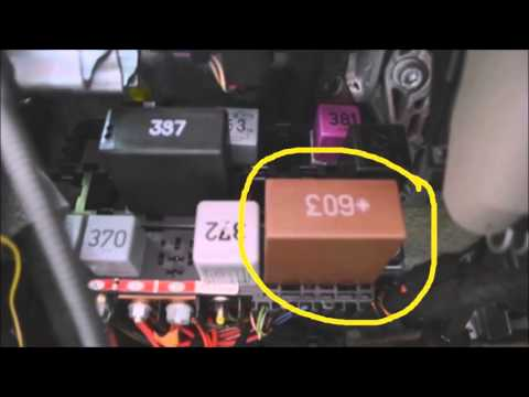audi-a6-relay-panel-location-&-diagram-commentary