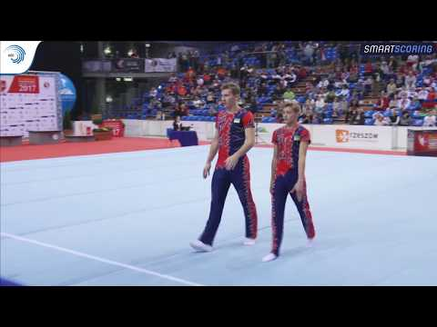 REPLAY: 2017 ACRO Europeans - Seniors finals day 4