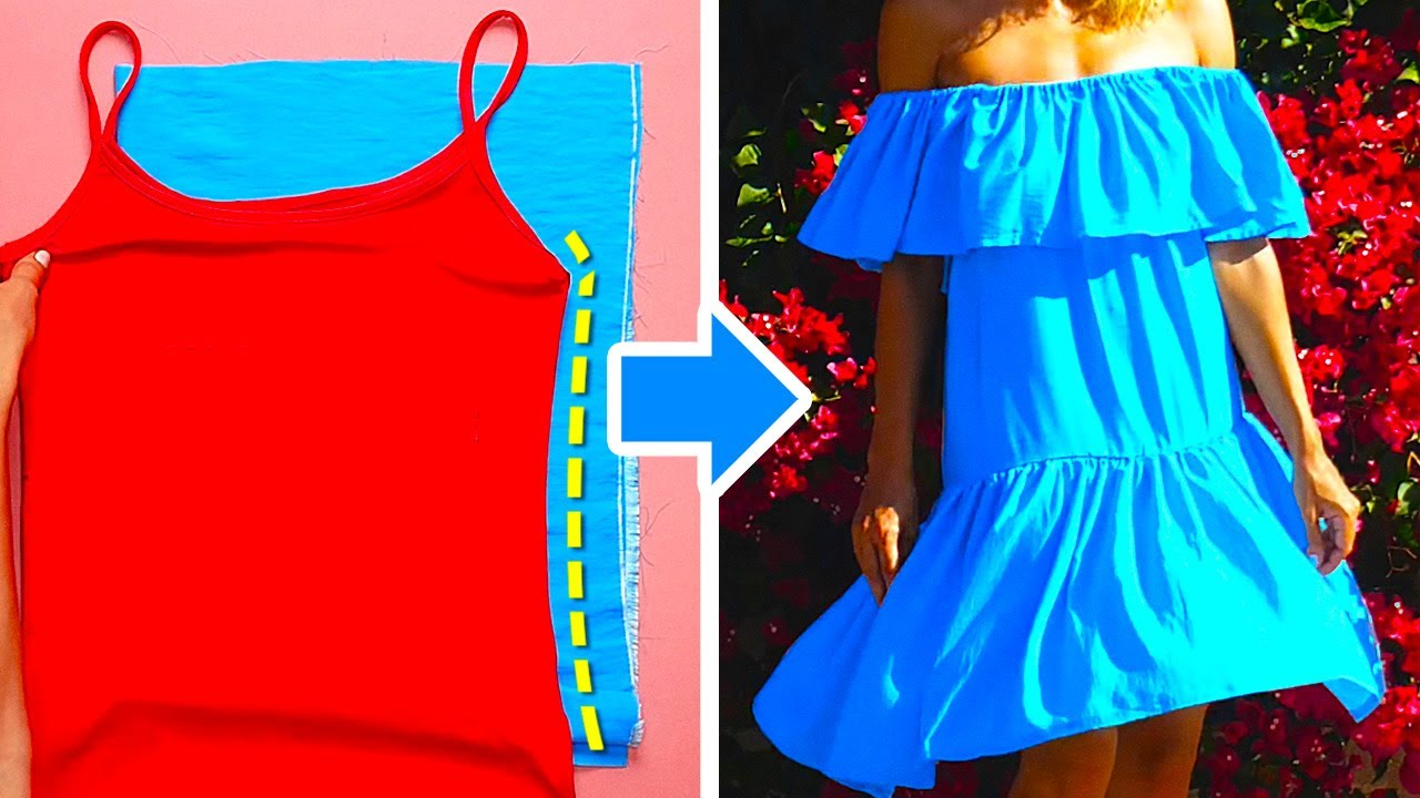 17 WAYS TO MAKE YOUR OWN DRESSES