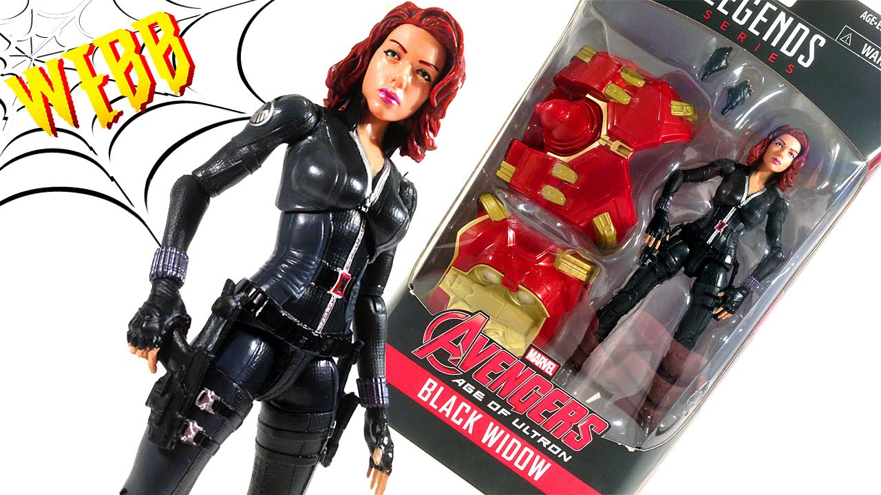 "MARVEL LEGENDS BAF Black Widow SERIES 6/"" ACTION FIGURE Avengers HULKBUSTER"