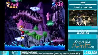 Rayman by spikevegeta in 1:28:10 - Summer Games Done Quick 2015 - Part 49