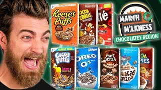 March Milkness Taste Test: Chocolate Cereals