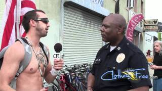 LAPD says nudity OK at World Naked Bike Ride 2011 in Los   Angeles, CA
