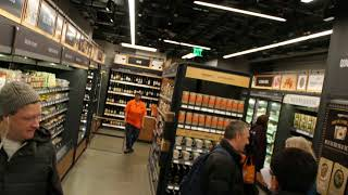 """We test the world's first Amazon Go """"watch you shop"""" grocery store"""