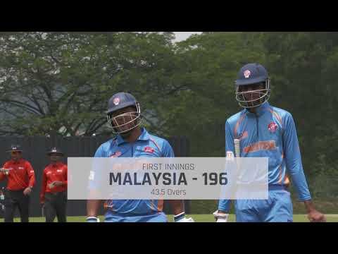WCL4: Malaysia v Vanuatu Highlights