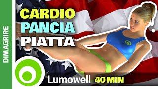 Dimagrire La Pancia E Ridurre Il Girovita Con Il Cardio |40 Minuti