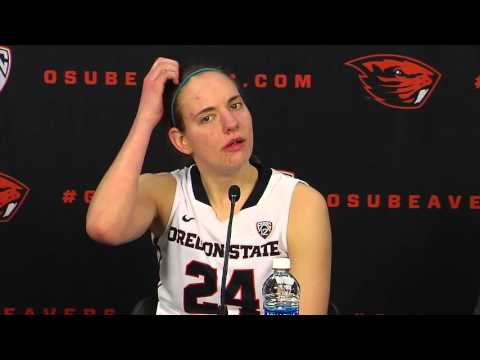 Oregon State WBB vs USC Postgame Press Conference 2/19/2016