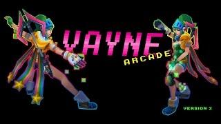 arcade vayne custom skin spotlight league of legends