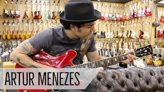 Artur Menezes playing a 1965 Gibson ES-335TDC at Norman's Rare Guitars
