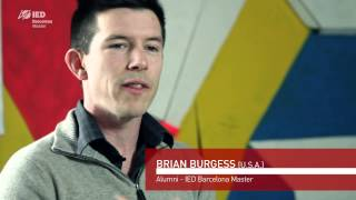 Interview Brian Burgess | Master in Design Management | IED Barcelona