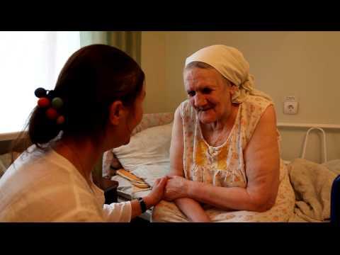 Поездка в дом престарелых. Видео #5