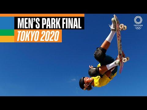 Full Skateboarding Men's Park Final | Tokyo Replays