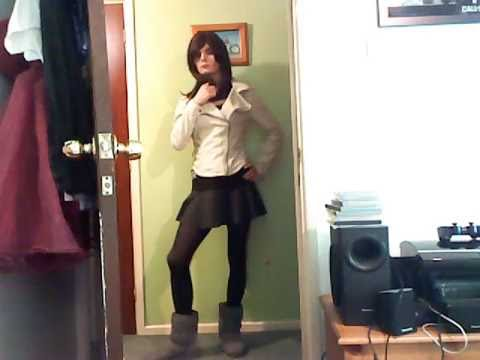 Cd Mini Skirt Jacket And Boots Youtube