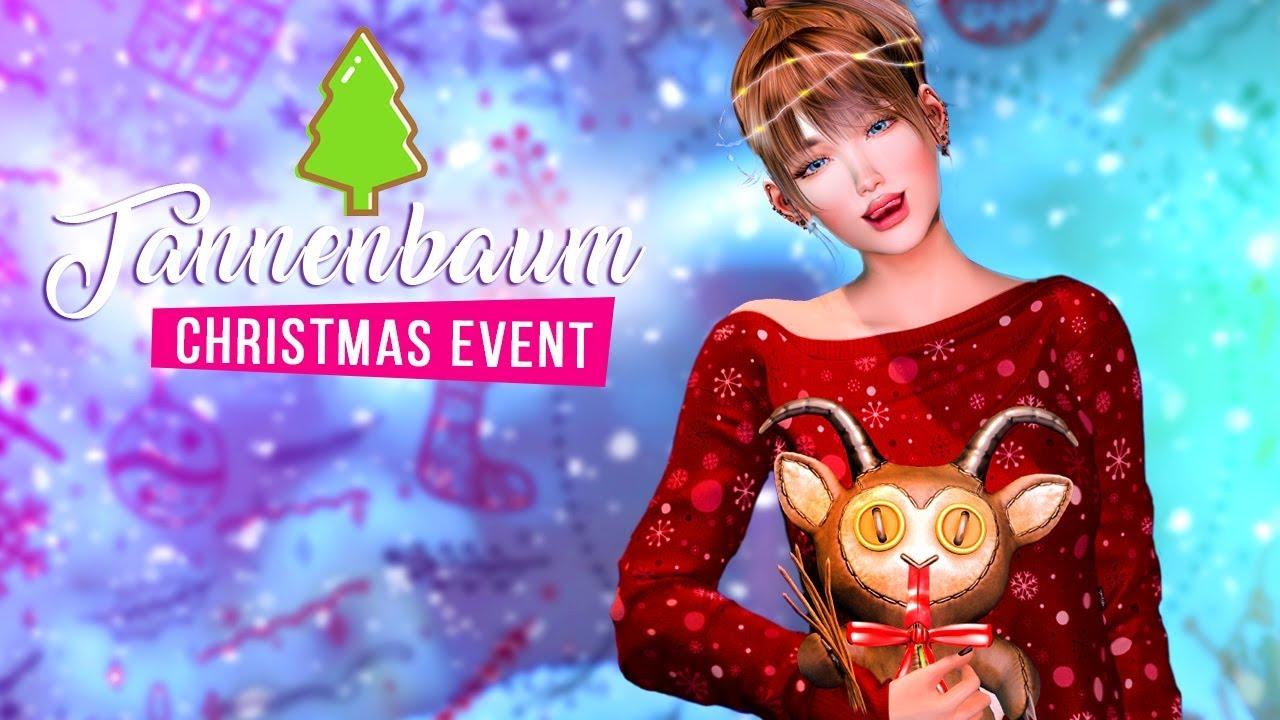 Secondlife Christmas Gacha 2020 Tannenbaum 2019   Christmas event Second Life   YouTube