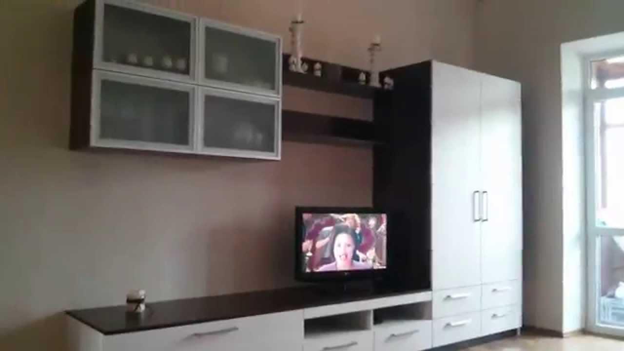 Мебель в гостиную. Стенка под телевизор - YouTube
