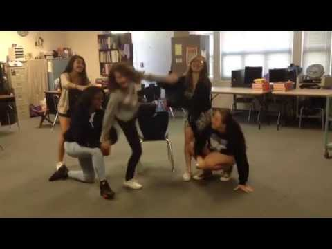 "Charles Town Middle School ""All About That Test"" bloopers"