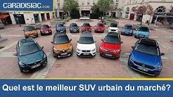 Maxi-comparatif : quel est le meilleur SUV urbain du marché?
