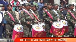 DESFILE CÍVICO MILITAR 23 DE MARZO