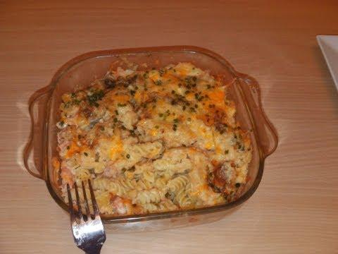 Pasta With Smoked Salmon And Bechamel Sauce- Italian