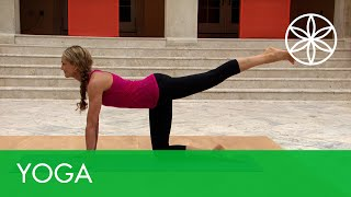 Calorie Killer Yoga with Colleen Saidman - Sustained Burn | Yoga | Gaiam