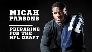 LB Micah Parsons on the 2021 NFL Draft & opting out of the 2020 Penn State football season