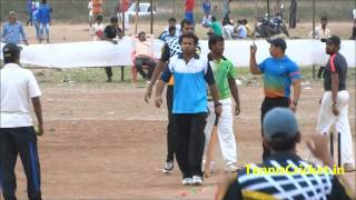 Hondo batting ( Thane Tennis Cricket )