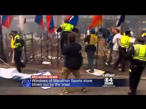 Boston Marathon Explosion (Saudi Man Detained) - HD