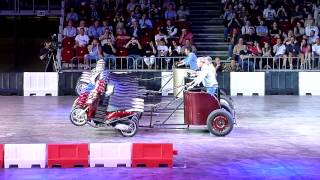Top Gear Live - Budapest 2014 (Part 7) - Chariot Racing