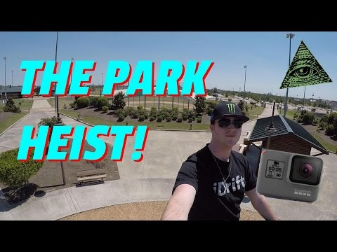 THE PARK HEIST - Aces of Society Adventure #1 - GoPro HERO 5