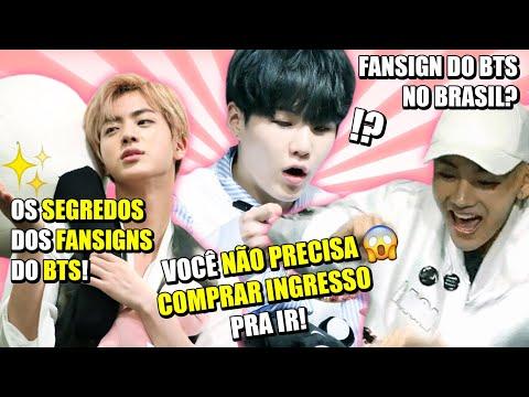O SEGREDO DOS FANSIGNS DO BTS! DESCUBRA AQUI
