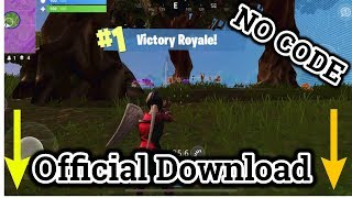 😱Download Fortnite Mobile No Code Needed Download Link 🤑 | IOS | ANDROID | FREE